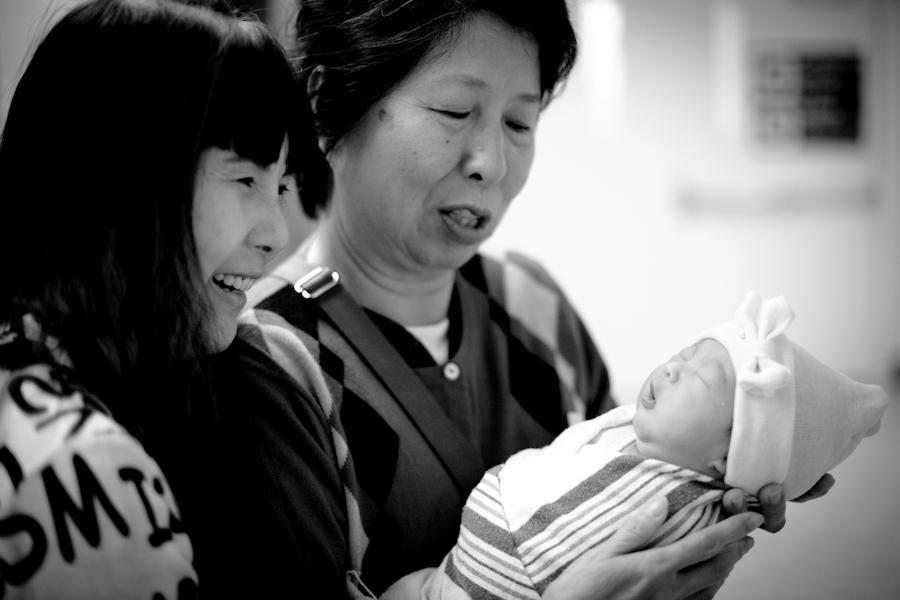 San Francisco Baby Photographer   Baby Madison Day 1